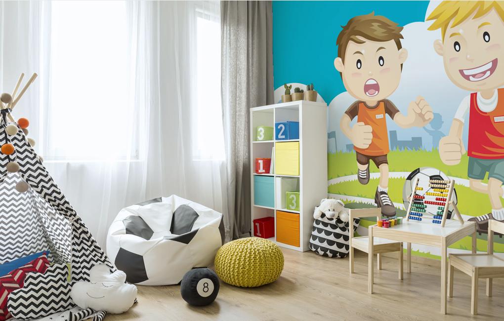 ideas de dormitorio con temática de fútbol El Cuarto De Un Fantico Del Ftbol Blog