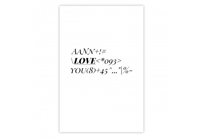 Love Code [Poster]