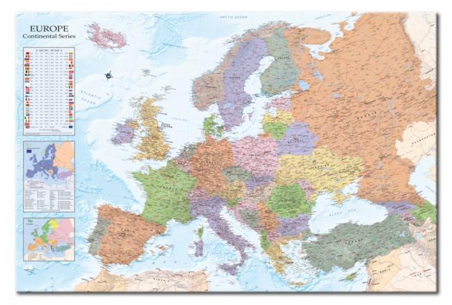 6 ideas para decorar con tablero de corcho blog - Mapa de corcho ...